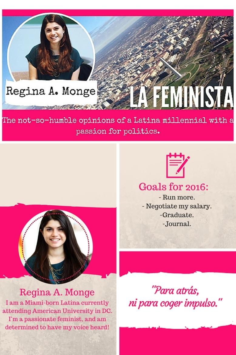 Home Page for La Feminista